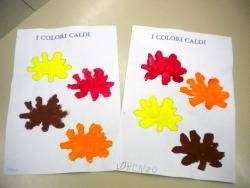 I Colori Caldi Scuola Dellinfanzia Adele