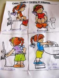 Prime regole in bagno | Scuola dell\'infanzia Adele