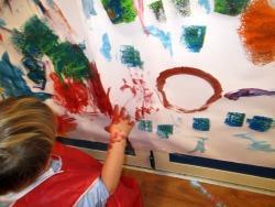 Laboratorio Di Pittura Scuola Dellinfanzia Adele